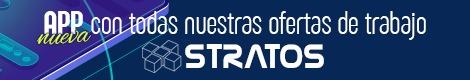 App de ofertas de trabajo de Stratos